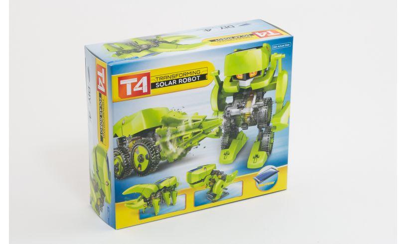 T4 Transforming Solar Robot Box