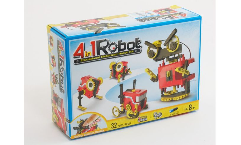 4 in 1 Robot Kit Box