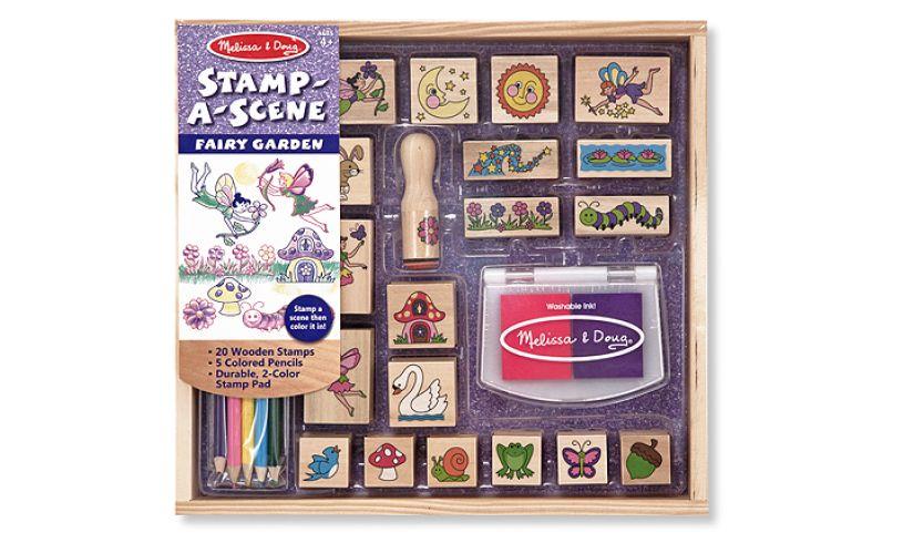 Fairy Garden Stamp-a-Scene