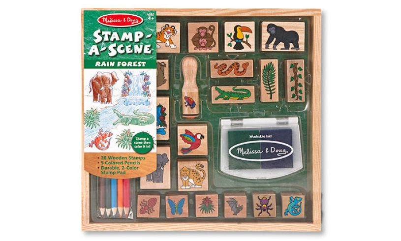 Rain Forest Stamp-a-Scene