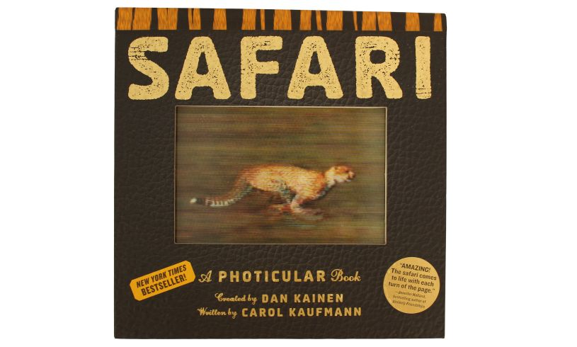 Safari Photicular Book - Animals in living motion