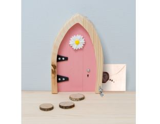 Magical Wooden Fairy Door - Believe!