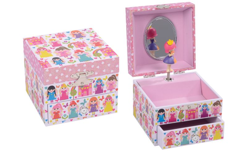 Fairy Princess Musical Jewellery Box