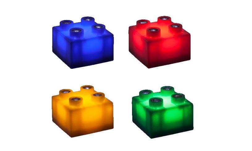 Light Stax - Light up Building Blocks four - 4 colours