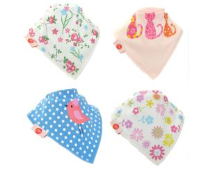 Fun Bandana Bibs - PINKS