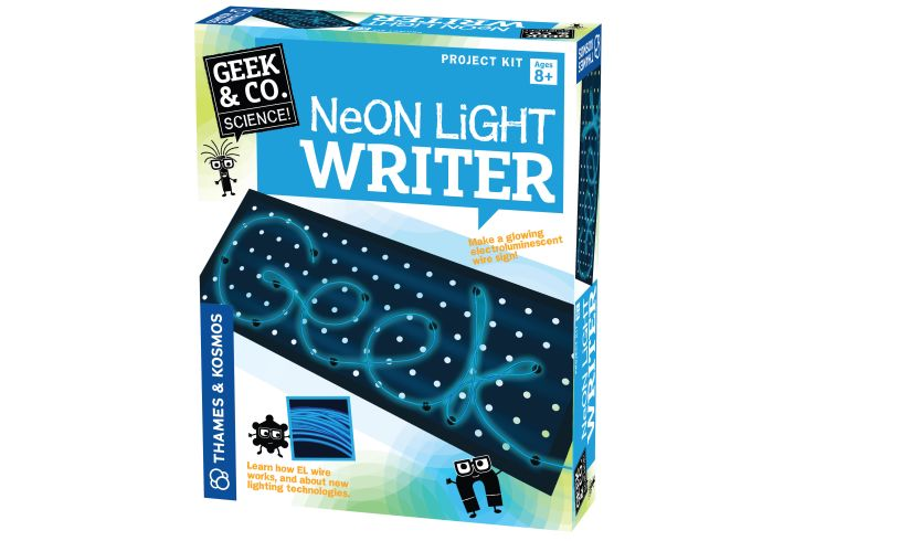 Neon Light Writer Packaging