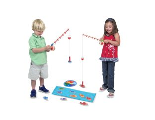 Magnetic Fishing Game - Catch & Count