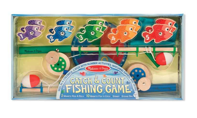 Magnetic Fishing Game Packaging