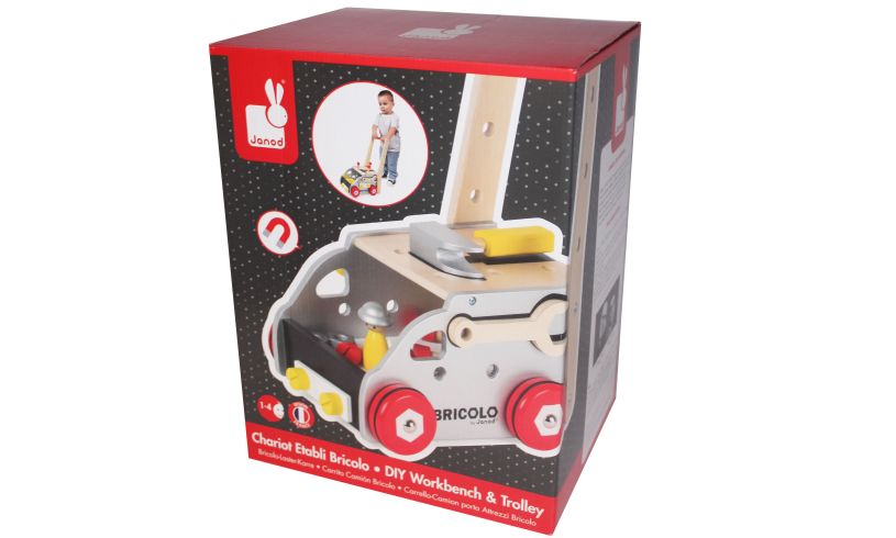 DIY Workbench & Trolley Packaging
