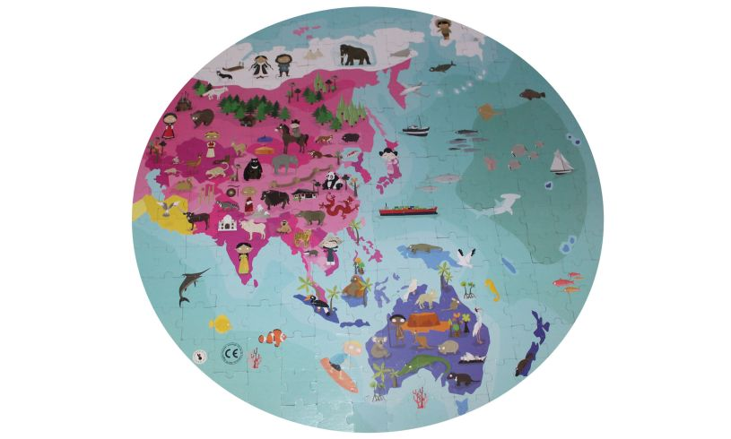Our Blue Planet Puzzle Close Up