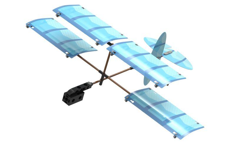 Ultralight Airplane Close Up