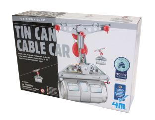 Tin Can Cable Car - Fun Mechanics!