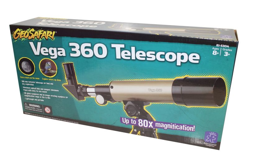 Vega 360 Telescope Packaging