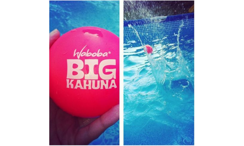 Waboba Big Kahuna Ball in pool