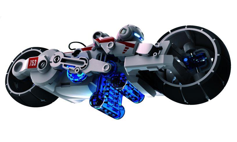 Salt Water Motorcycle Kit - Facing Right