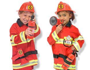 Fireman's Costume Set