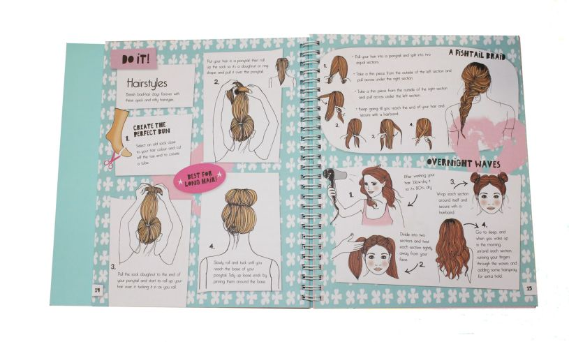 Do it yourself beauty diary brilliant childrens presents do it yourself beauty diary hair solutioingenieria Gallery