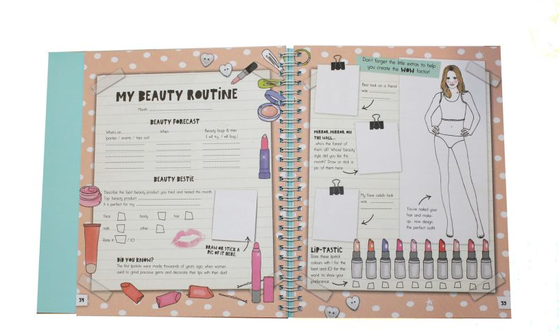 Do it yourself beauty diary brilliant childrens presents do it yourself beauty diary routine solutioingenieria Gallery