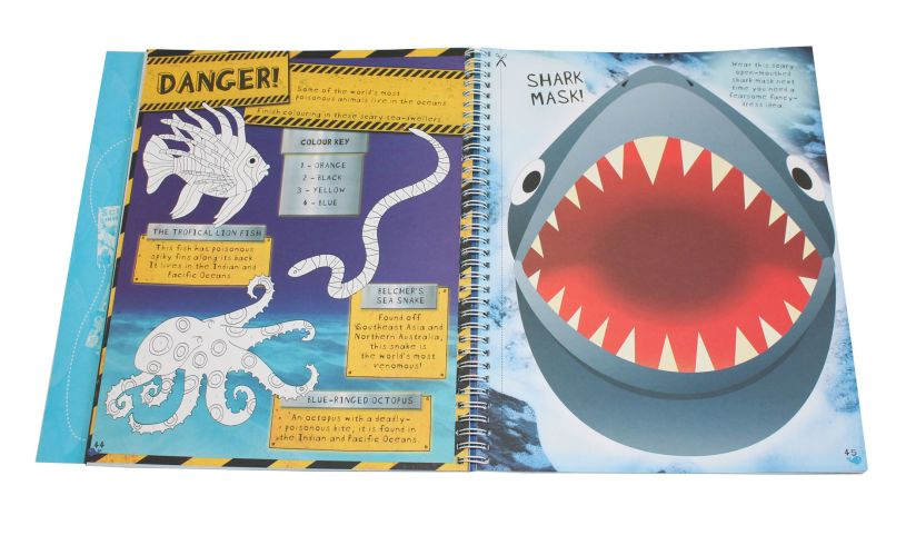 The Under Water Creativity Book Shark