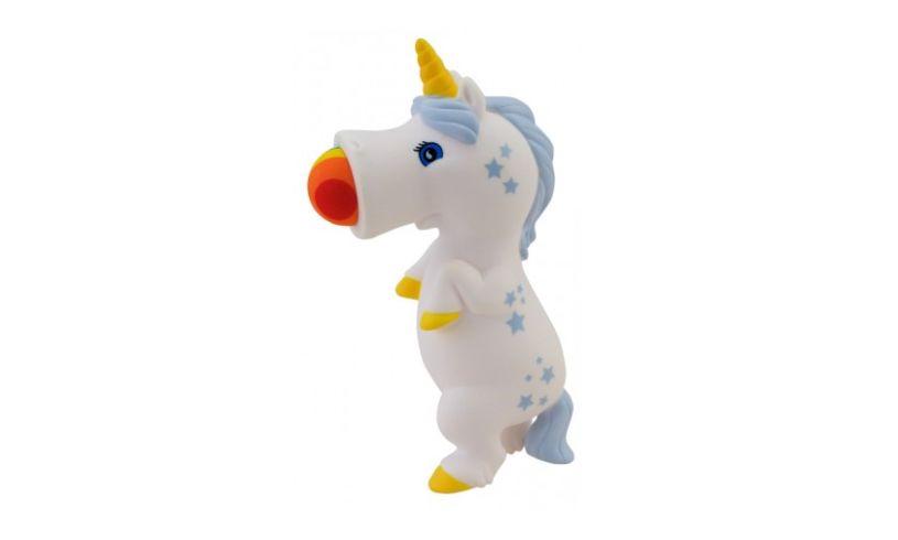 Unicorn Squeeze Popper Close Up