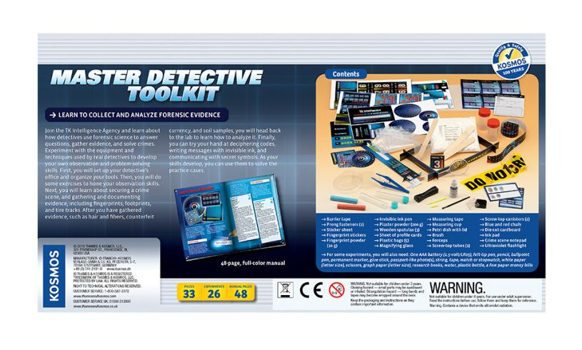 Master Detective Toolkit Back