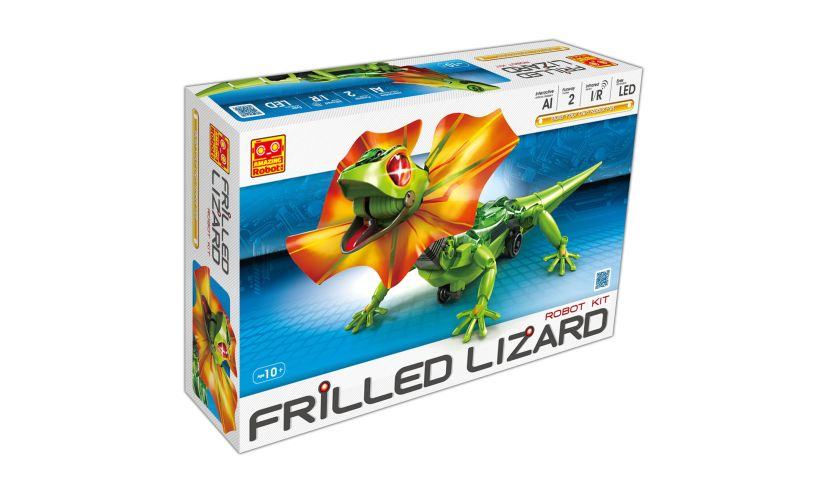 Frilled Lizard Robot Kit Box