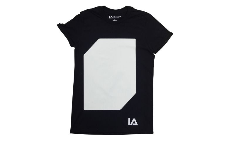 Black Interactive Glow T-Shirt