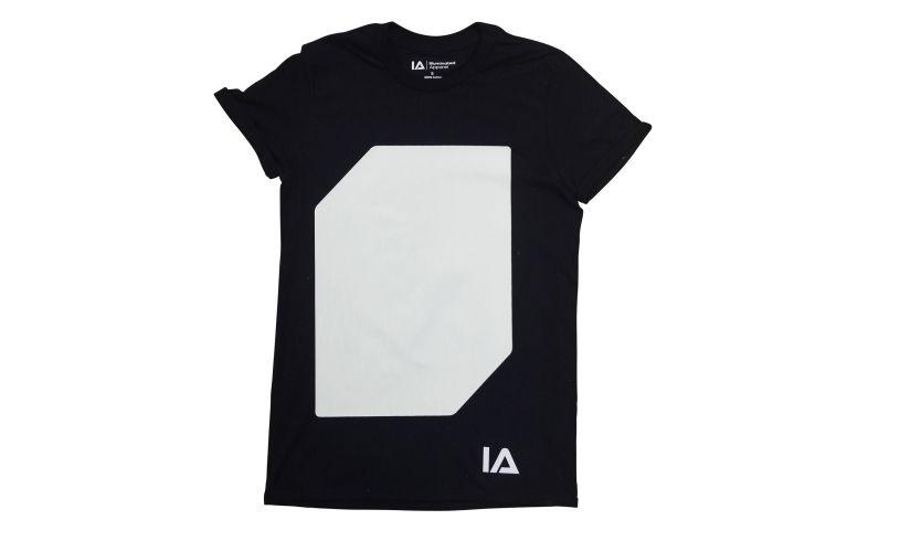 Black Interactive Glow T-Shirt