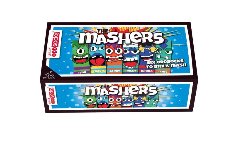 United Odd Socks The Mashers Box