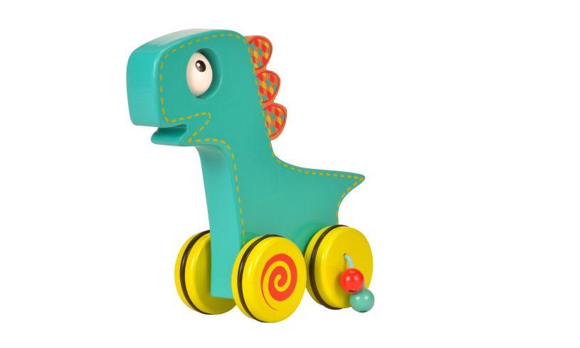 Dinosaur Push & Roll Detatched