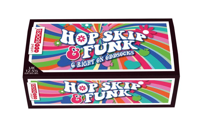 Hop Skip & Funk Odd Socks Box