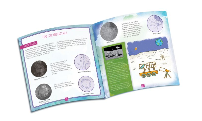 Moonscope Sky Gazers Activity Journal