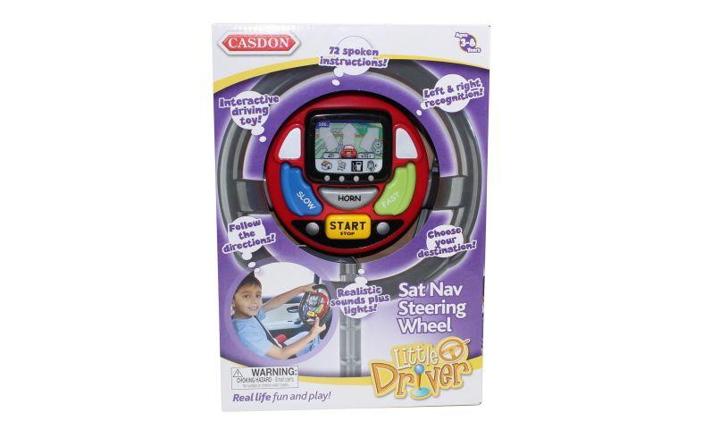 Sat Nav Steering Wheel Box