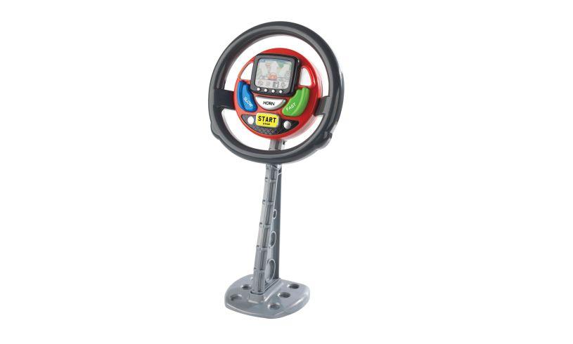 Sat Nav Steering Wheel