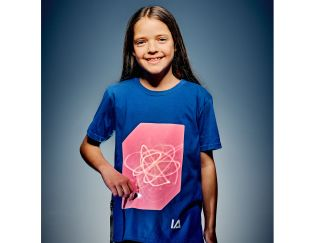 Illuminated Apparel Blue Interactive Glow T-Shirt