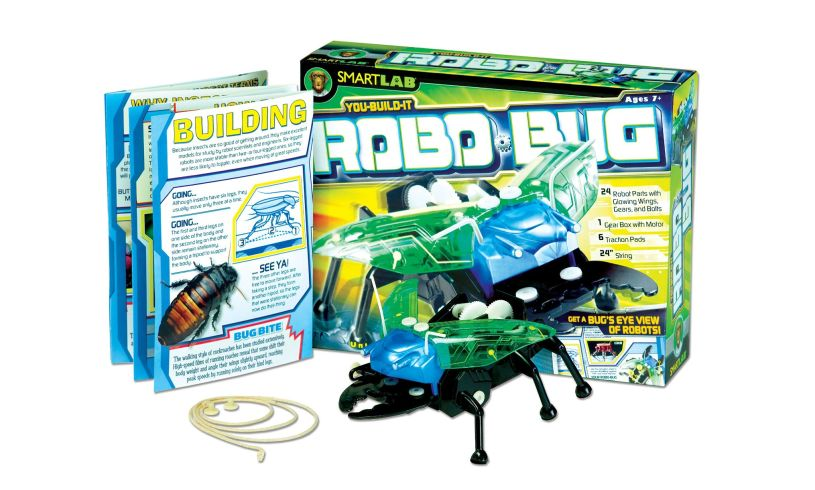 Smart Lab You Build It Robo Bug
