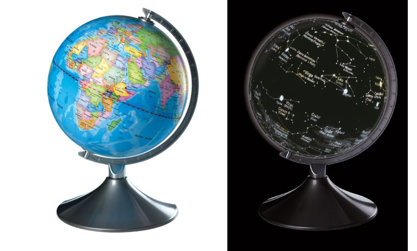 Brainstorm 2 in 1 Globe Earth & Constellations