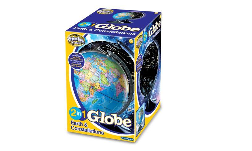 Brainstorm 2 in 1 Globe Box
