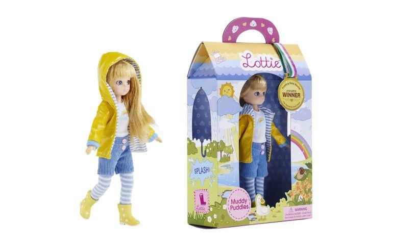 Arklu Lottie Doll Muddy Puddles