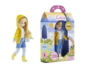 Arklu Lottie Doll Muddy Puddles