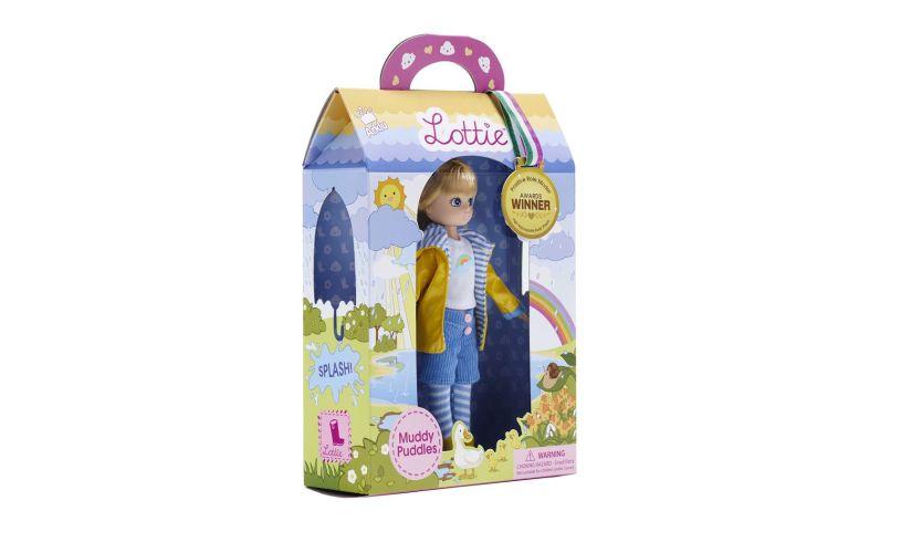 Lottie Doll Muddy Puddles Box