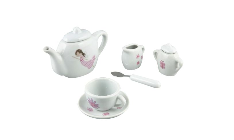 FLoss and Rock Fairy Princess Tea Set