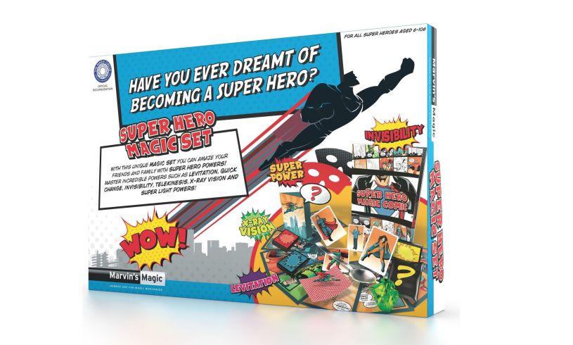 Super Hero Magic Set