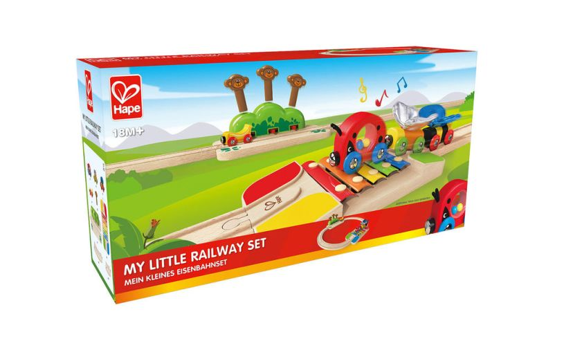 Hape My Little Railway Set Box
