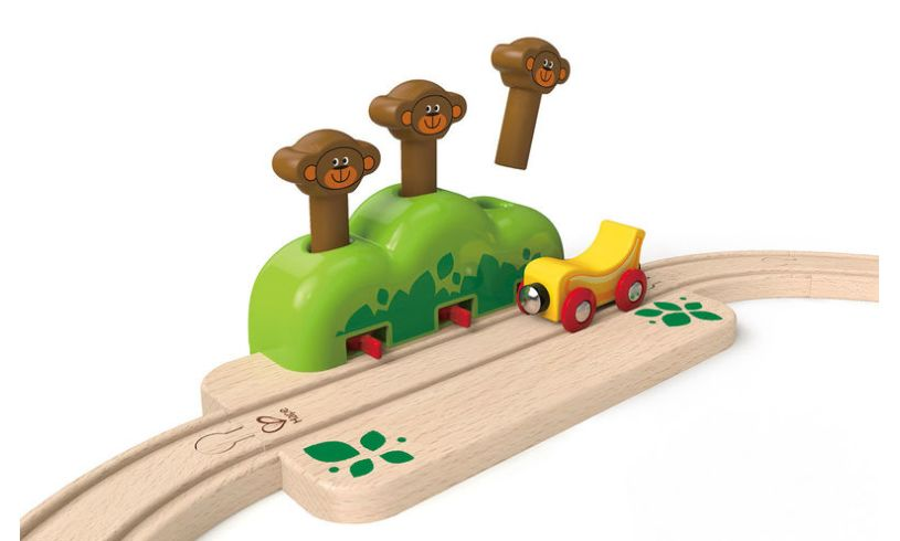 Hape My Little Railway Set Close Up