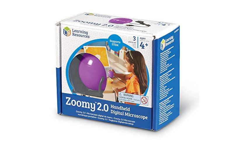 Learning Resources Zoomy - Handheld digital microscope
