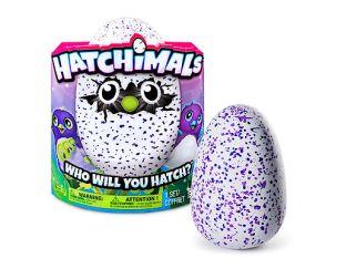 Spinmaster Purple Hatchimal
