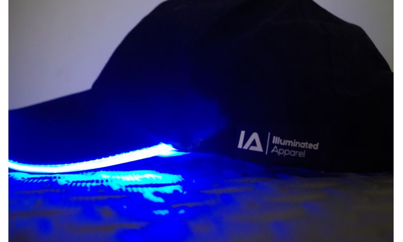 Blue LED Baseball Cap