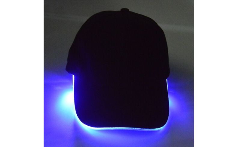 LED Baseball Cap Lifestyle