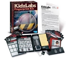 Detective Fingerprint Kit